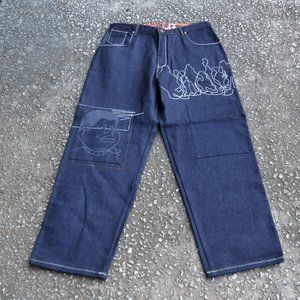 Platinum FUBU Fat Albert & Junkyard Gang Jeans